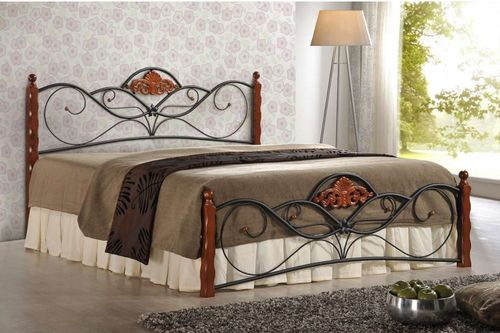 Купить металлическую кровать в Москве